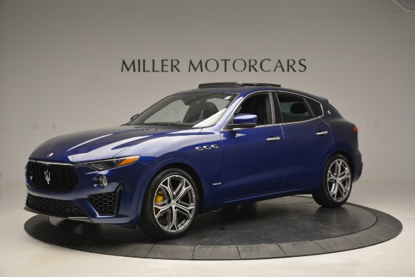 New 2019 Maserati Levante Q4 GranSport for sale Sold at Bugatti of Greenwich in Greenwich CT 06830 2