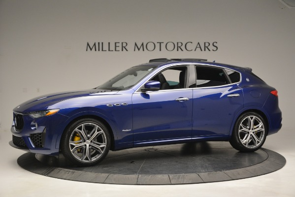 New 2019 Maserati Levante Q4 GranSport for sale Sold at Bugatti of Greenwich in Greenwich CT 06830 3