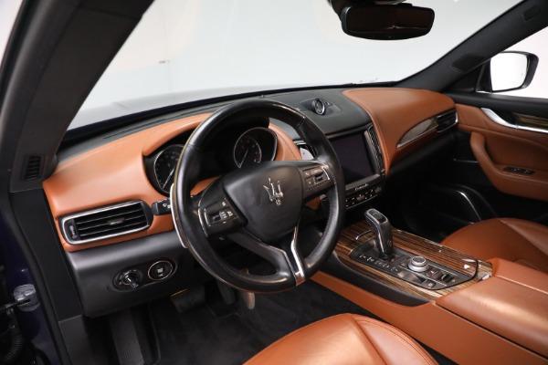 New 2019 Maserati Levante Q4 GranLusso for sale Sold at Bugatti of Greenwich in Greenwich CT 06830 13