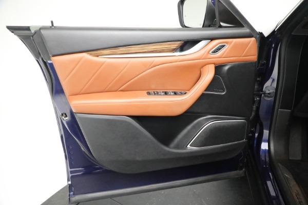 New 2019 Maserati Levante Q4 GranLusso for sale Sold at Bugatti of Greenwich in Greenwich CT 06830 17