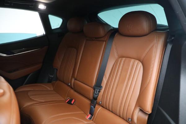 New 2019 Maserati Levante Q4 GranLusso for sale Sold at Bugatti of Greenwich in Greenwich CT 06830 20