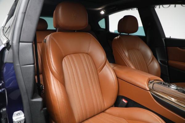 New 2019 Maserati Levante Q4 GranLusso for sale Sold at Bugatti of Greenwich in Greenwich CT 06830 21