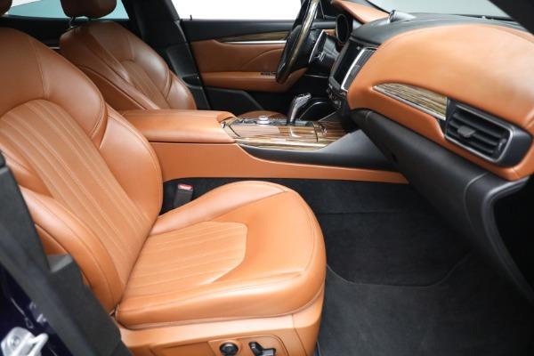 New 2019 Maserati Levante Q4 GranLusso for sale Sold at Bugatti of Greenwich in Greenwich CT 06830 22