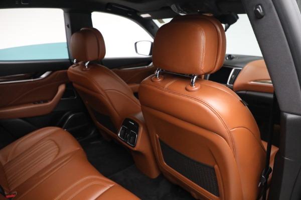 New 2019 Maserati Levante Q4 GranLusso for sale Sold at Bugatti of Greenwich in Greenwich CT 06830 24