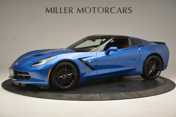 Used 2014 Chevrolet Corvette Stingray Z51 for sale Sold at Bugatti of Greenwich in Greenwich CT 06830 2