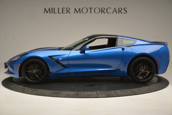 Used 2014 Chevrolet Corvette Stingray Z51 for sale Sold at Bugatti of Greenwich in Greenwich CT 06830 3