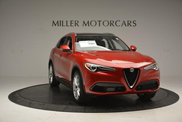 New 2018 Alfa Romeo Stelvio Ti Lusso Q4 for sale Sold at Bugatti of Greenwich in Greenwich CT 06830 11