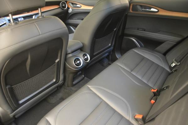 New 2018 Alfa Romeo Stelvio Ti Lusso Q4 for sale Sold at Bugatti of Greenwich in Greenwich CT 06830 18