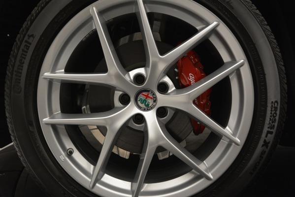 New 2018 Alfa Romeo Stelvio Ti Lusso Q4 for sale Sold at Bugatti of Greenwich in Greenwich CT 06830 25
