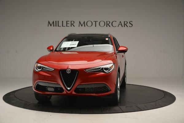 New 2018 Alfa Romeo Stelvio Ti Lusso Q4 for sale Sold at Bugatti of Greenwich in Greenwich CT 06830 1