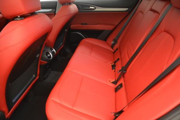 New 2019 Alfa Romeo Stelvio Sport Q4 for sale Sold at Bugatti of Greenwich in Greenwich CT 06830 17