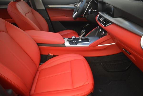 New 2019 Alfa Romeo Stelvio Sport Q4 for sale Sold at Bugatti of Greenwich in Greenwich CT 06830 20
