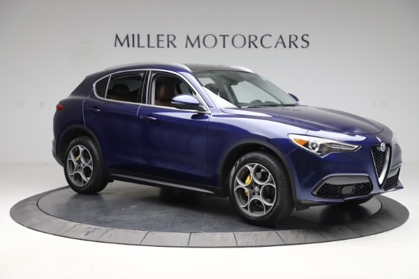 Used 2019 Alfa Romeo Stelvio Q4 for sale Sold at Bugatti of Greenwich in Greenwich CT 06830 10