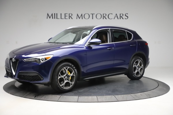 Used 2019 Alfa Romeo Stelvio Q4 for sale Sold at Bugatti of Greenwich in Greenwich CT 06830 2