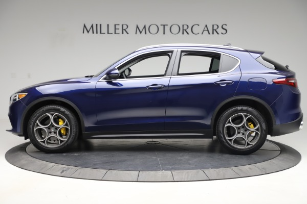 Used 2019 Alfa Romeo Stelvio Q4 for sale Sold at Bugatti of Greenwich in Greenwich CT 06830 3