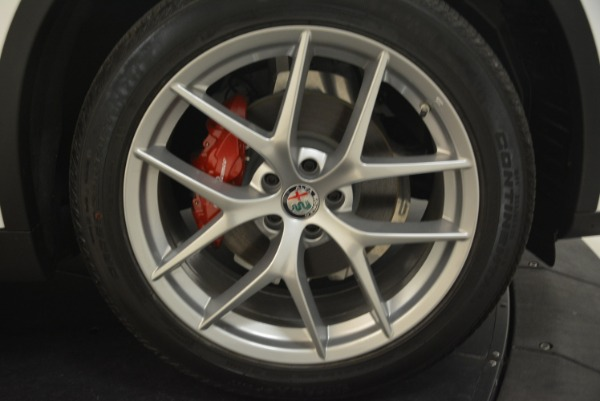 New 2019 Alfa Romeo Stelvio Ti Sport Q4 for sale Sold at Bugatti of Greenwich in Greenwich CT 06830 25