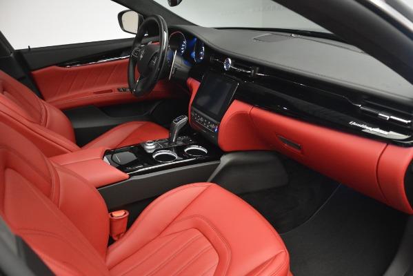 New 2019 Maserati Quattroporte S Q4 GranLusso for sale Sold at Bugatti of Greenwich in Greenwich CT 06830 17