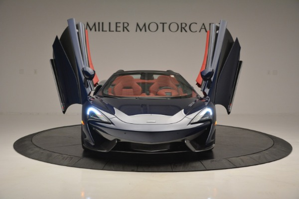 New 2019 McLaren 570S Spider Convertible for sale Sold at Bugatti of Greenwich in Greenwich CT 06830 13