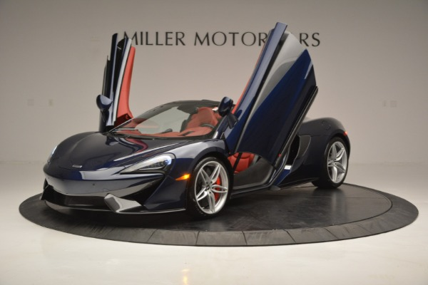 New 2019 McLaren 570S Spider Convertible for sale Sold at Bugatti of Greenwich in Greenwich CT 06830 14