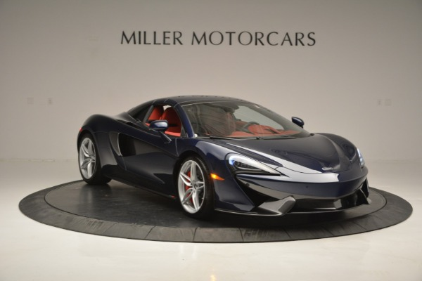New 2019 McLaren 570S Spider Convertible for sale Sold at Bugatti of Greenwich in Greenwich CT 06830 21