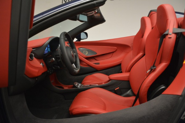 New 2019 McLaren 570S Spider Convertible for sale Sold at Bugatti of Greenwich in Greenwich CT 06830 24