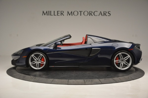 New 2019 McLaren 570S Spider Convertible for sale Sold at Bugatti of Greenwich in Greenwich CT 06830 3