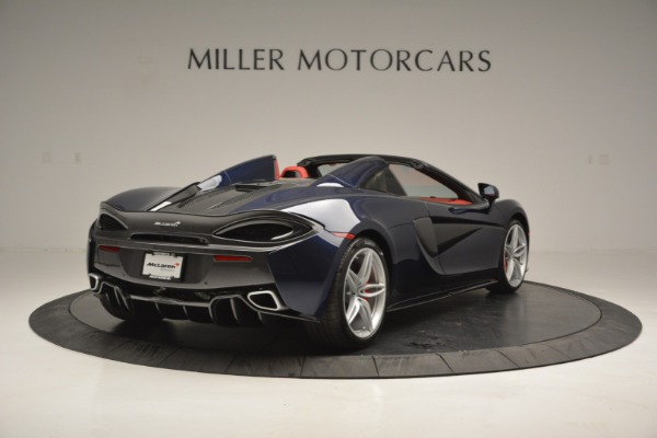 New 2019 McLaren 570S Spider Convertible for sale Sold at Bugatti of Greenwich in Greenwich CT 06830 7