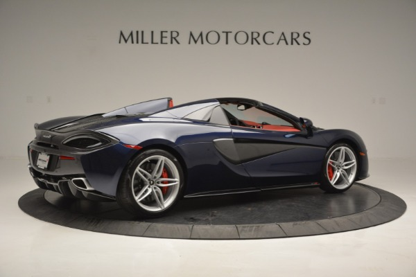 New 2019 McLaren 570S Spider Convertible for sale Sold at Bugatti of Greenwich in Greenwich CT 06830 8