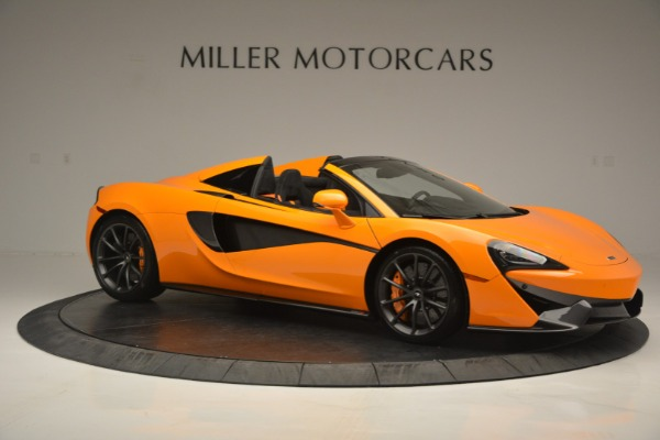 Used 2019 McLaren 570S Spider for sale Sold at Bugatti of Greenwich in Greenwich CT 06830 10