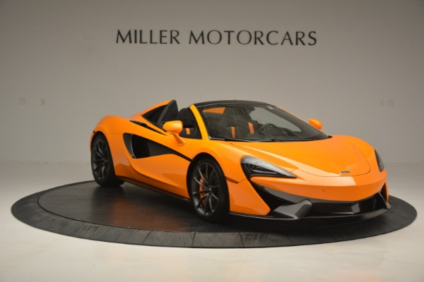 Used 2019 McLaren 570S Spider for sale Sold at Bugatti of Greenwich in Greenwich CT 06830 11