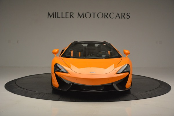 Used 2019 McLaren 570S Spider for sale Sold at Bugatti of Greenwich in Greenwich CT 06830 12