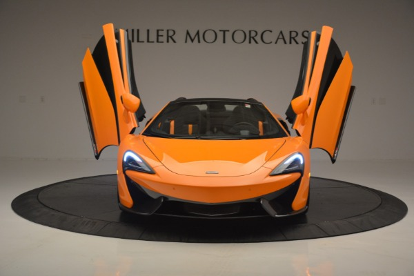 Used 2019 McLaren 570S Spider for sale Sold at Bugatti of Greenwich in Greenwich CT 06830 13