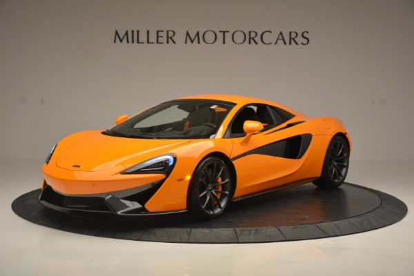 Used 2019 McLaren 570S Spider for sale Sold at Bugatti of Greenwich in Greenwich CT 06830 15