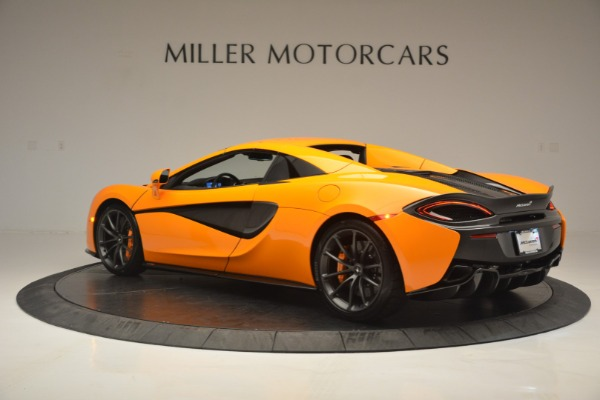 Used 2019 McLaren 570S Spider for sale Sold at Bugatti of Greenwich in Greenwich CT 06830 17