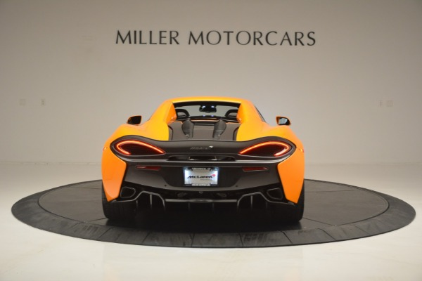 Used 2019 McLaren 570S Spider for sale Sold at Bugatti of Greenwich in Greenwich CT 06830 18