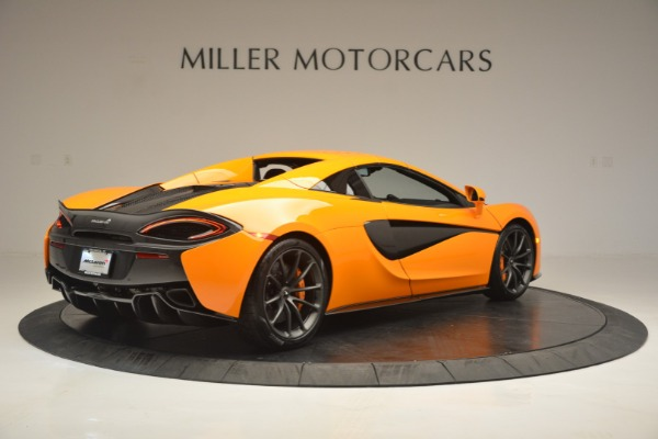 Used 2019 McLaren 570S SPIDER Convertible for sale $240,720 at Bugatti of Greenwich in Greenwich CT 06830 19
