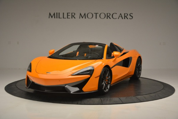 Used 2019 McLaren 570S SPIDER Convertible for sale $240,720 at Bugatti of Greenwich in Greenwich CT 06830 2