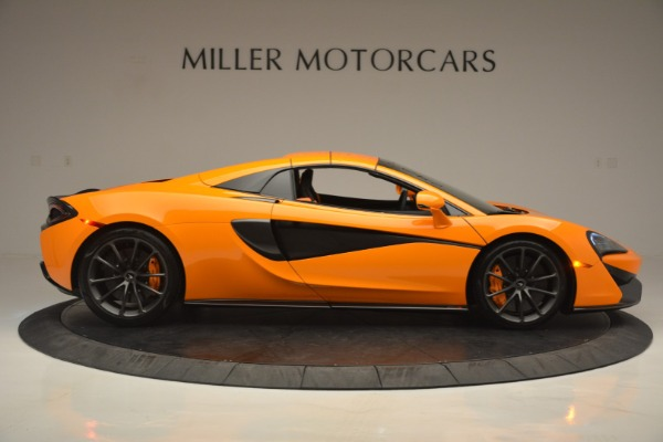 Used 2019 McLaren 570S Spider for sale Sold at Bugatti of Greenwich in Greenwich CT 06830 20
