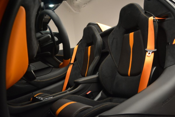 Used 2019 McLaren 570S Spider for sale Sold at Bugatti of Greenwich in Greenwich CT 06830 25
