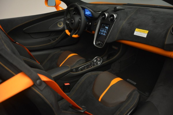 Used 2019 McLaren 570S Spider for sale Sold at Bugatti of Greenwich in Greenwich CT 06830 26