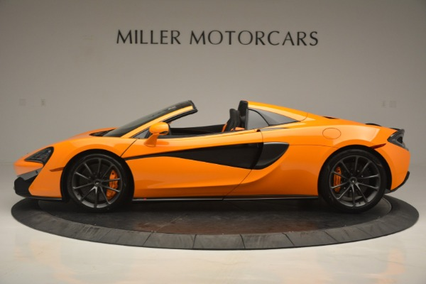 Used 2019 McLaren 570S SPIDER Convertible for sale $240,720 at Bugatti of Greenwich in Greenwich CT 06830 3