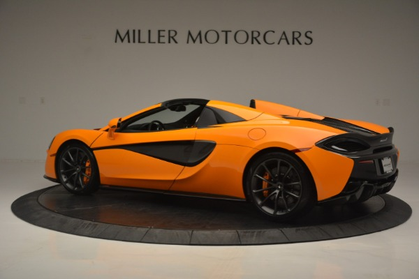 Used 2019 McLaren 570S SPIDER Convertible for sale $240,720 at Bugatti of Greenwich in Greenwich CT 06830 4