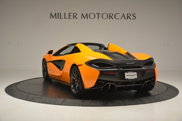 Used 2019 McLaren 570S SPIDER Convertible for sale $240,720 at Bugatti of Greenwich in Greenwich CT 06830 5