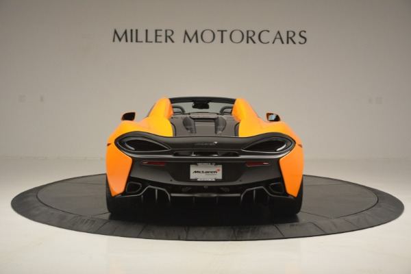 Used 2019 McLaren 570S SPIDER Convertible for sale $240,720 at Bugatti of Greenwich in Greenwich CT 06830 6
