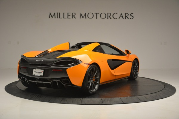Used 2019 McLaren 570S Spider for sale Sold at Bugatti of Greenwich in Greenwich CT 06830 7