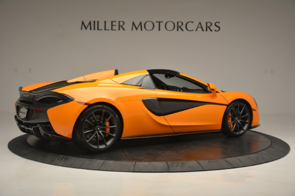 Used 2019 McLaren 570S Spider for sale Sold at Bugatti of Greenwich in Greenwich CT 06830 8