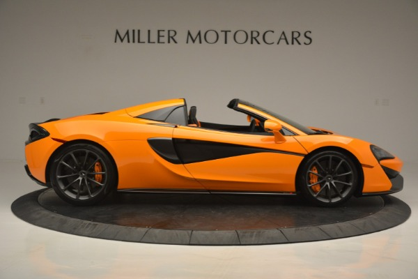 Used 2019 McLaren 570S Spider for sale Sold at Bugatti of Greenwich in Greenwich CT 06830 9