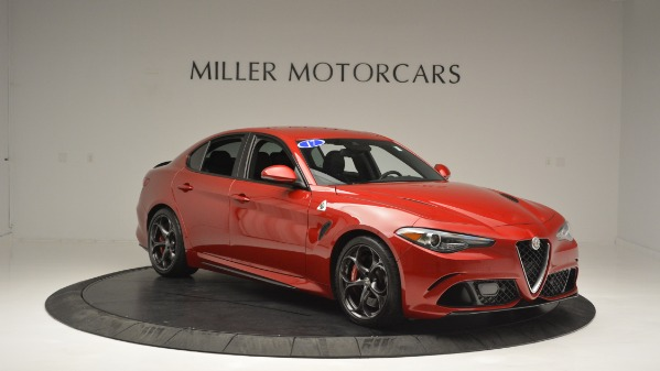 Used 2017 Alfa Romeo Giulia Quadrifoglio for sale Sold at Bugatti of Greenwich in Greenwich CT 06830 11