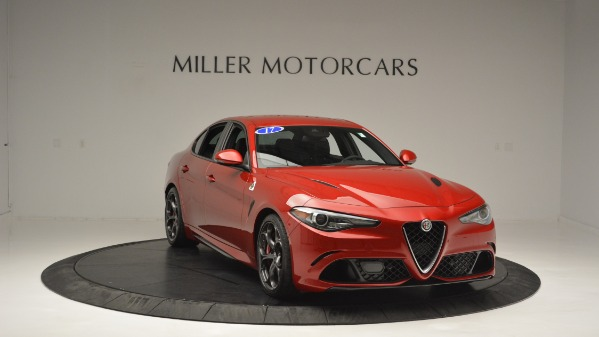 Used 2017 Alfa Romeo Giulia Quadrifoglio for sale Sold at Bugatti of Greenwich in Greenwich CT 06830 12