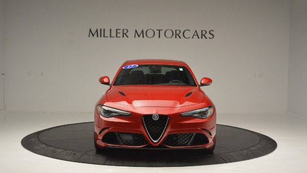 Used 2017 Alfa Romeo Giulia Quadrifoglio for sale Sold at Bugatti of Greenwich in Greenwich CT 06830 13
